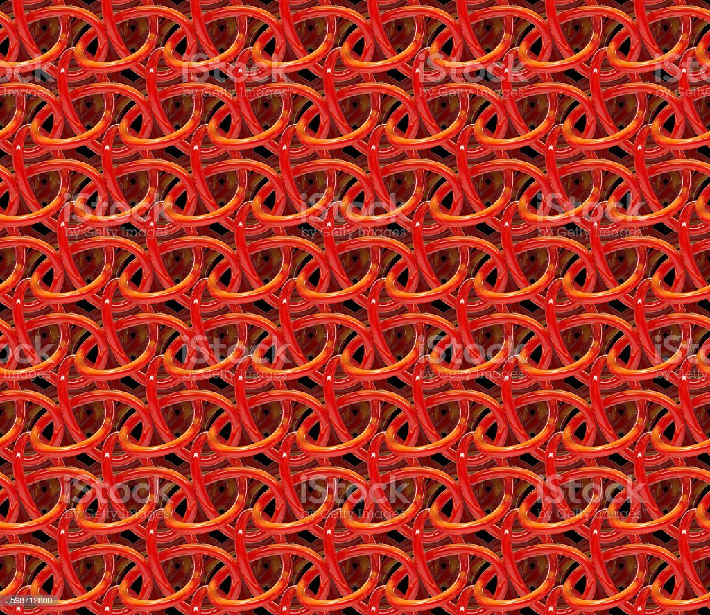 3d background of a shiny mesh structure (seamless) stock photo
