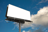 3d billboard with copyspace
