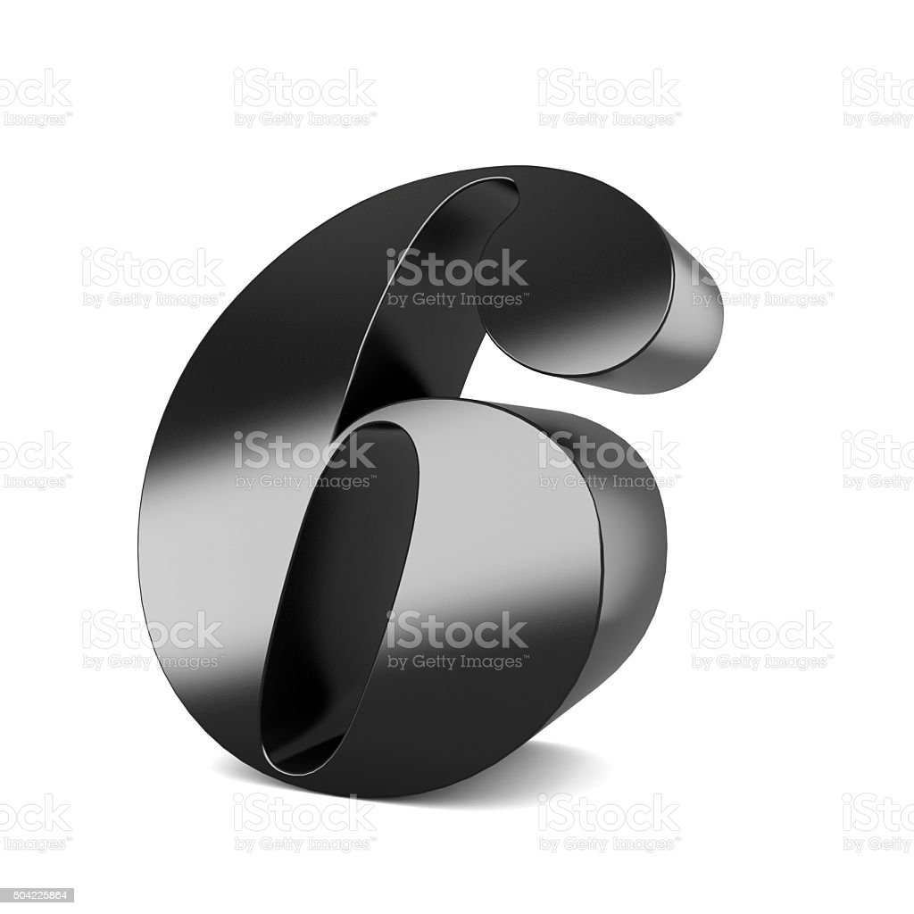 3d black metal letter Z isolated white background stock photo