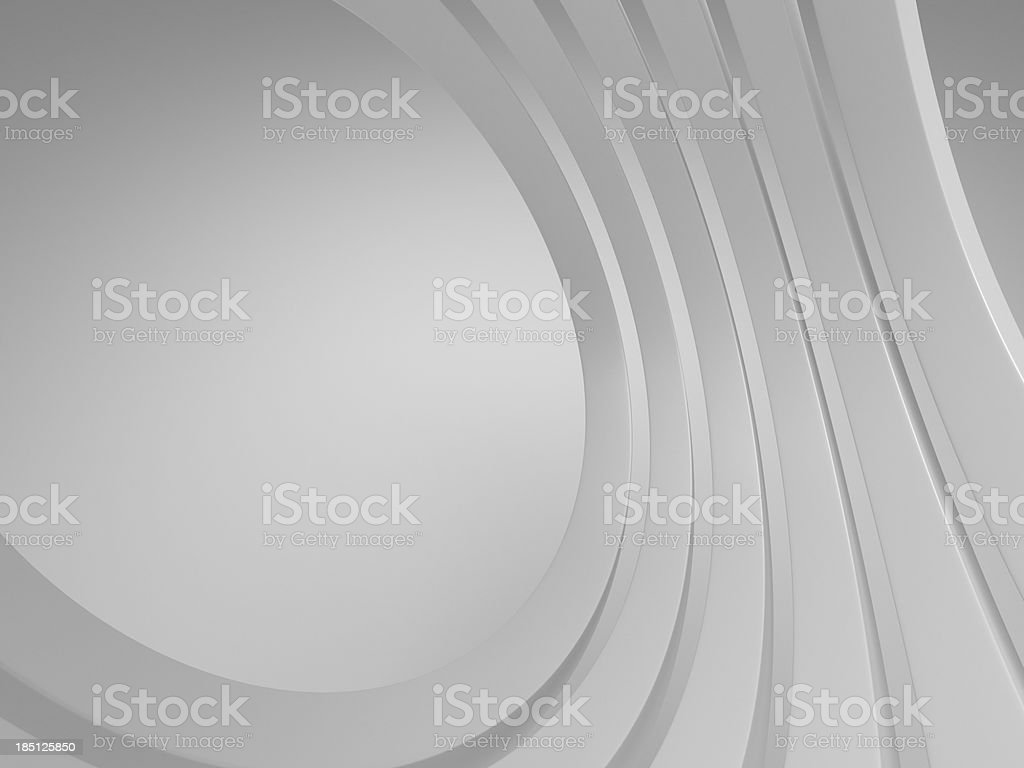 3d blank abstract architecture background royalty-free stock photo