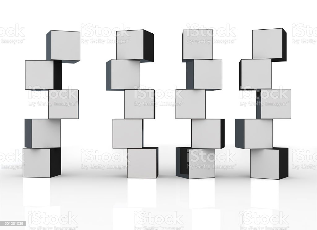 3d blank video wall pannels stock photo