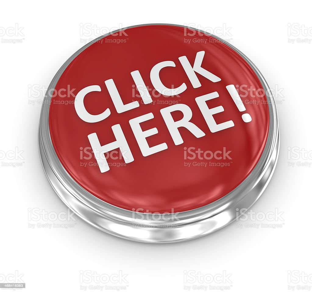 3d button stock photo
