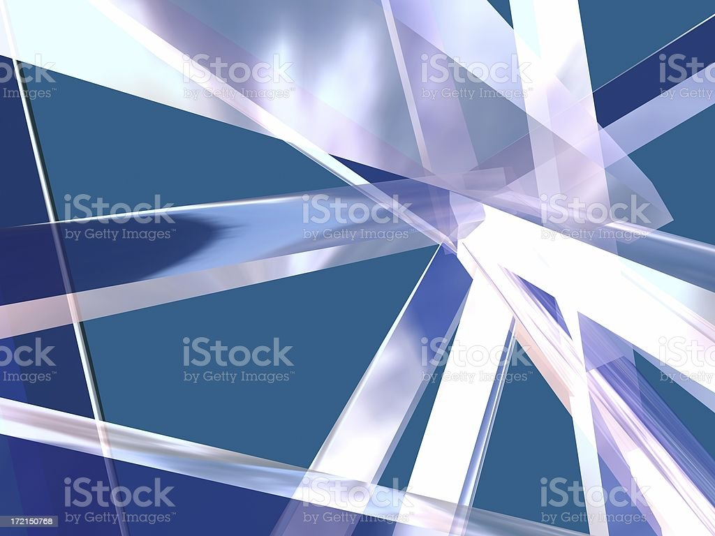 3d Crystals stock photo