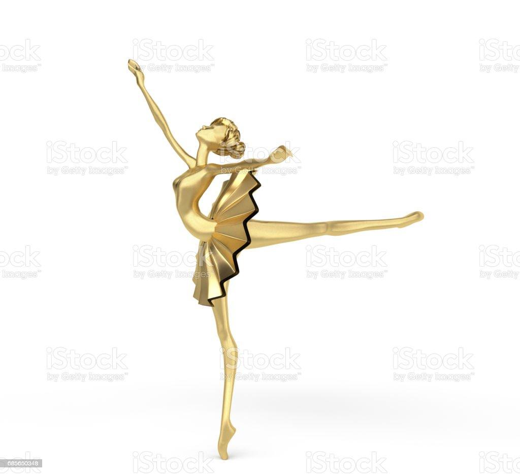 3d Elegant Ballerina 1 stock photo