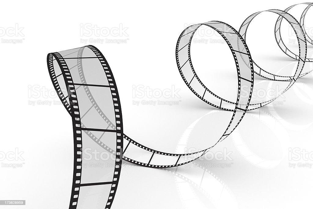3d filmstrip stock photo