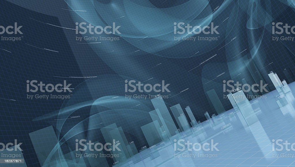 3d finance stock photo