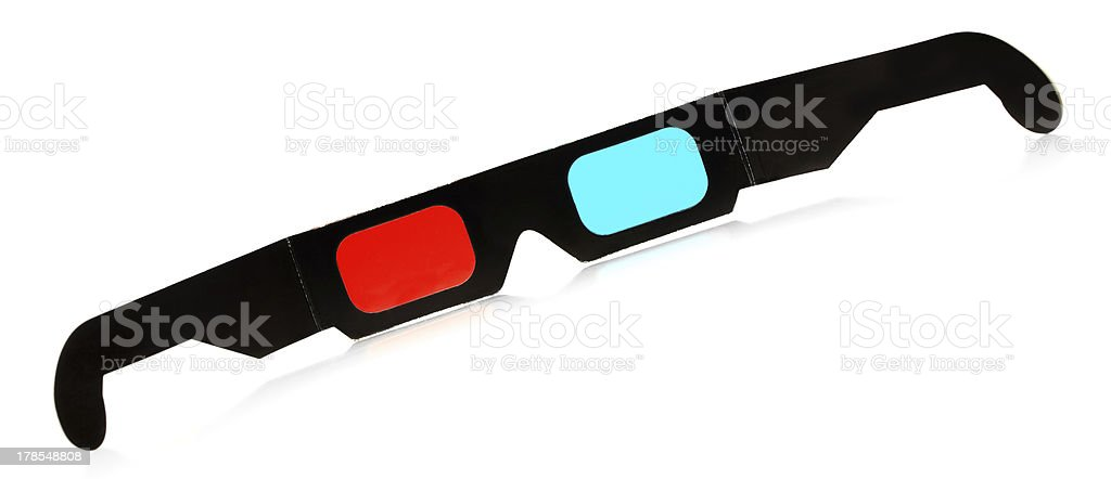 3d Glasses royalty-free stock photo