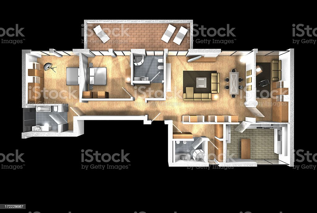 3d home stock photo