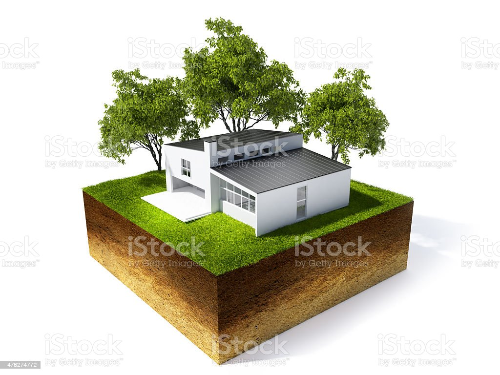 3 d illustration de fond partie de sol photo libre de droits