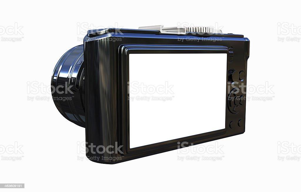3d illustration of photographic camera royalty-free stock photo