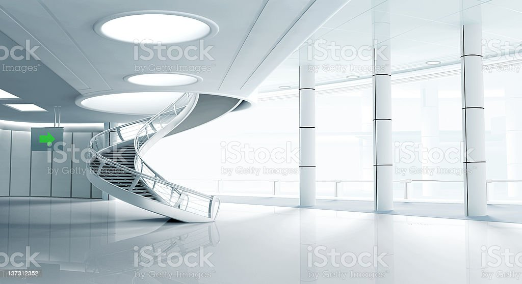 3d interior royalty-free stock photo