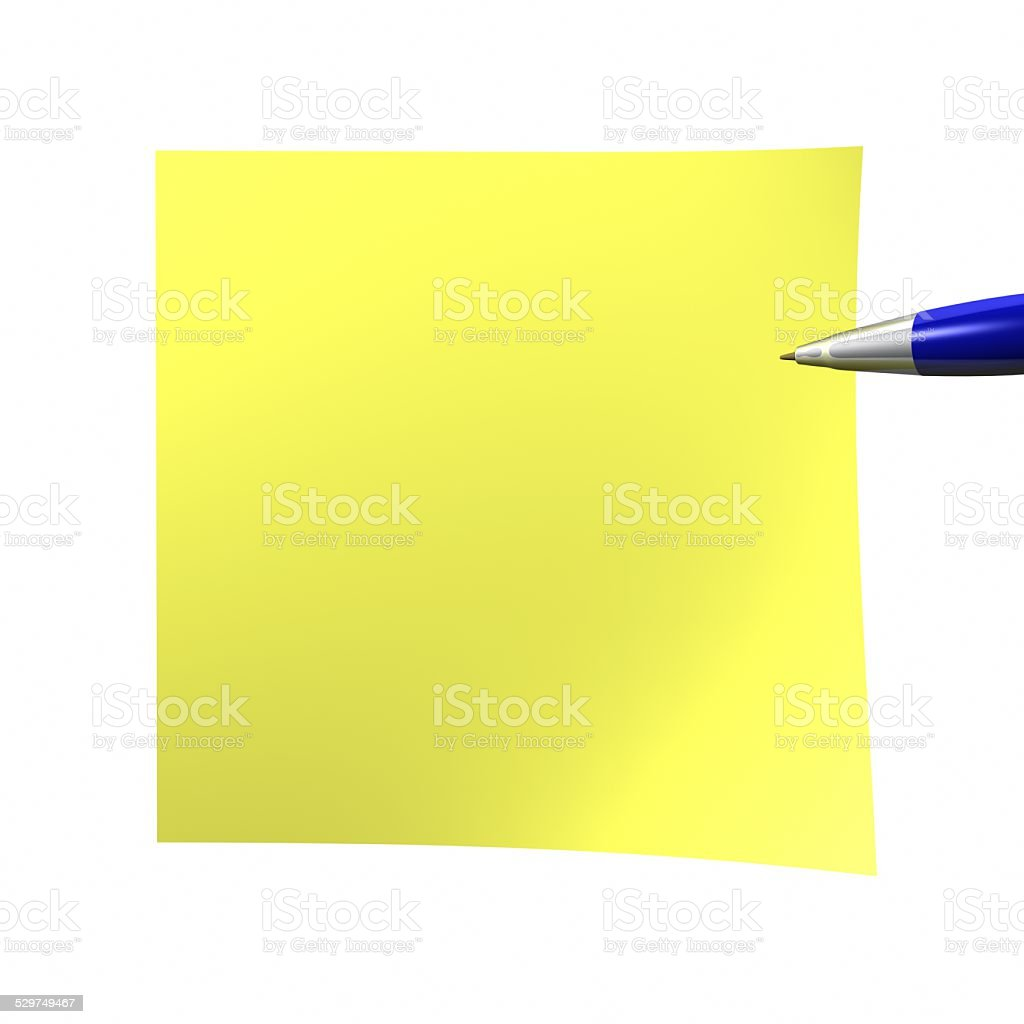 3d Isolated on white stock photo