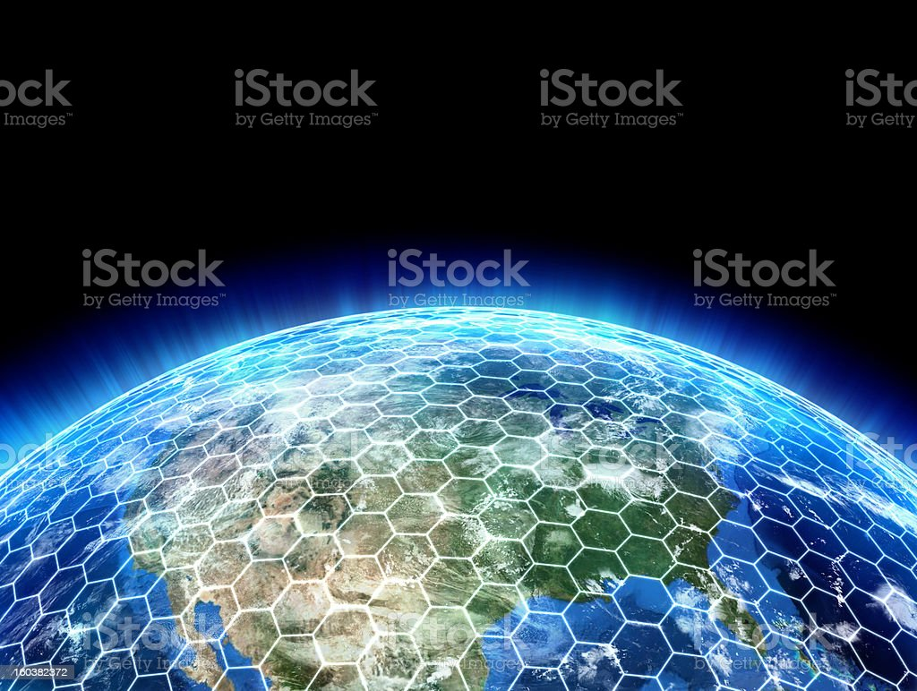 3d planet royalty-free stock photo