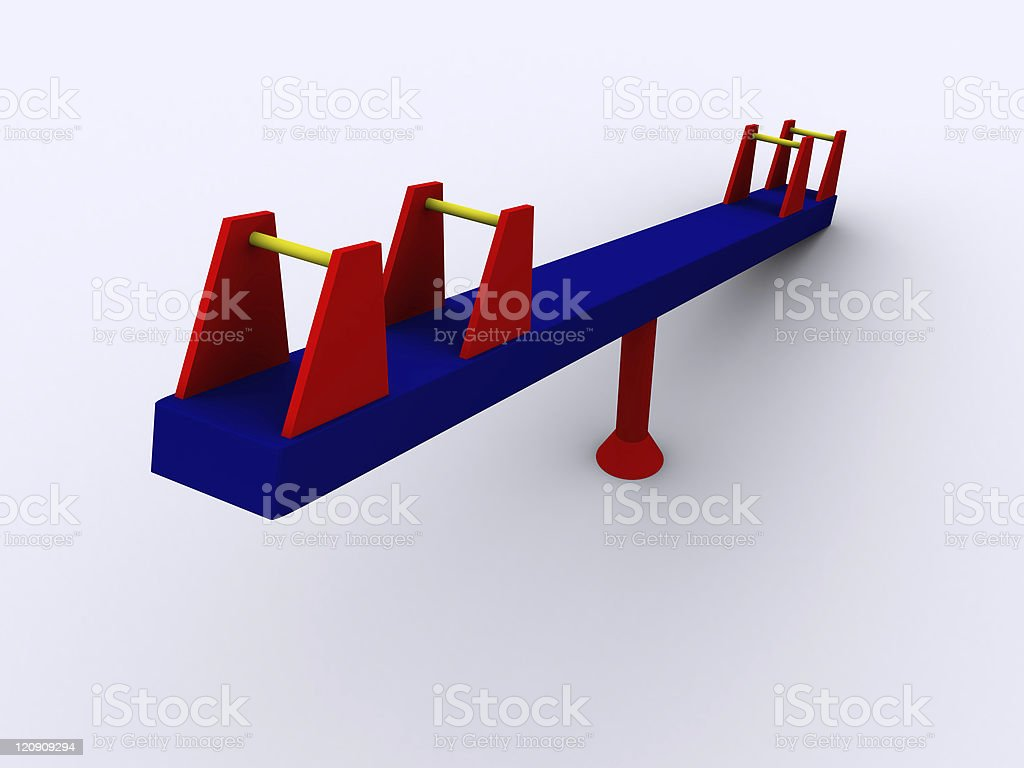 3d PlaySwing stock photo