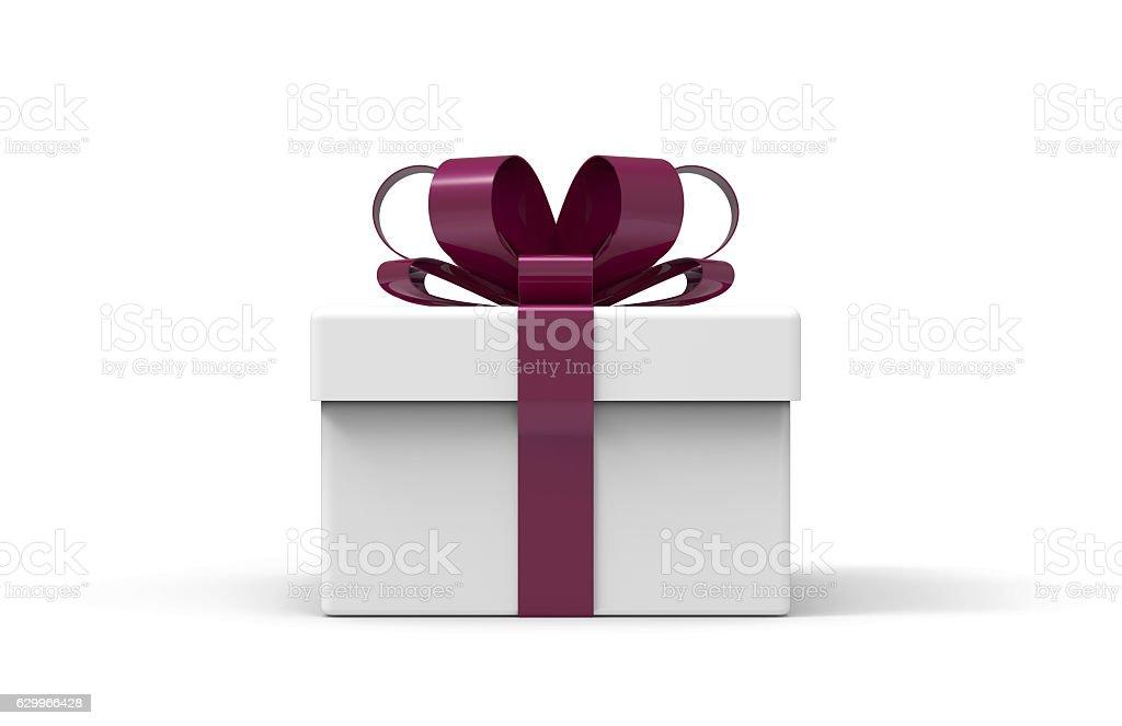 3d present box stock photo