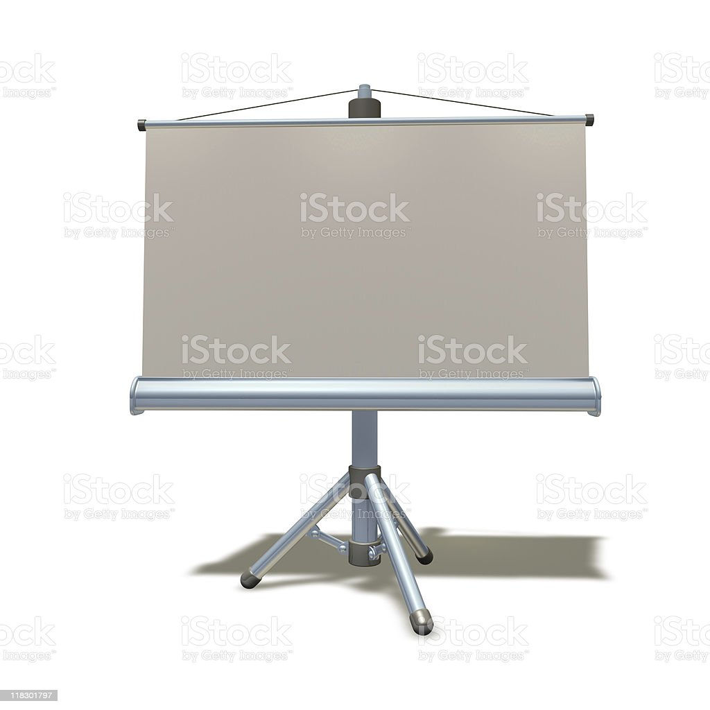 3d presentation equipment illustration royalty-free stock photo