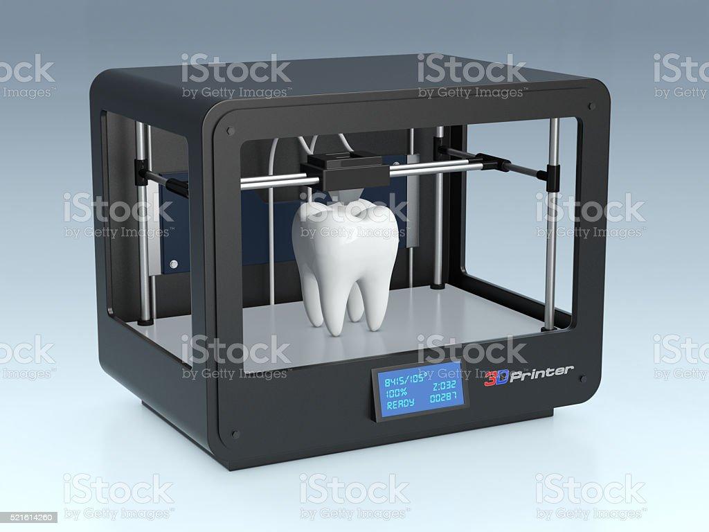 3d printing in medicine stock photo