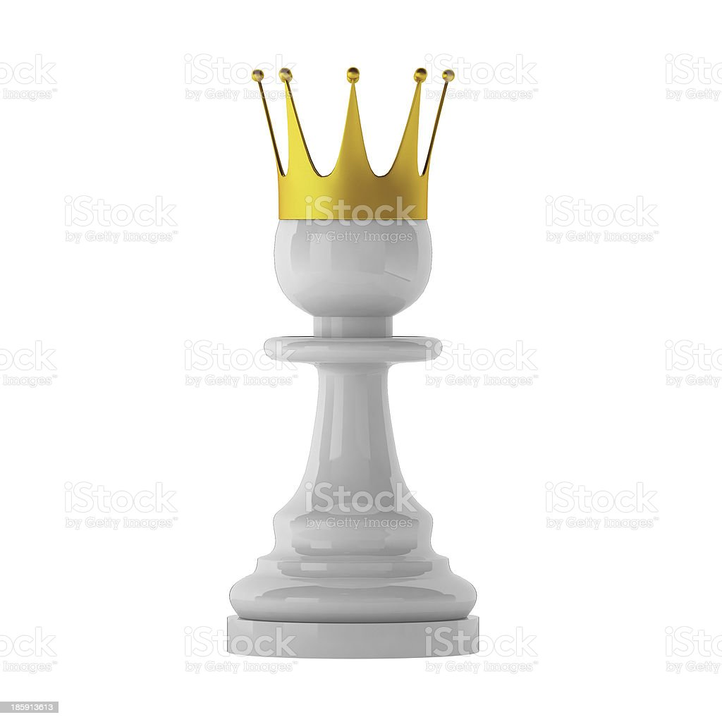 3d render of pawn stock photo