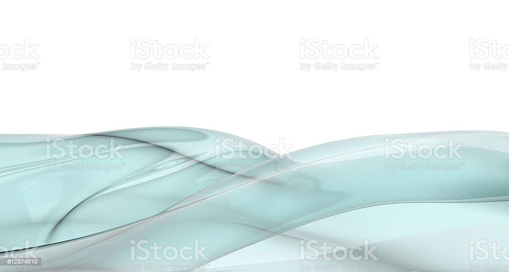 3d rendering aqua wave stock photo