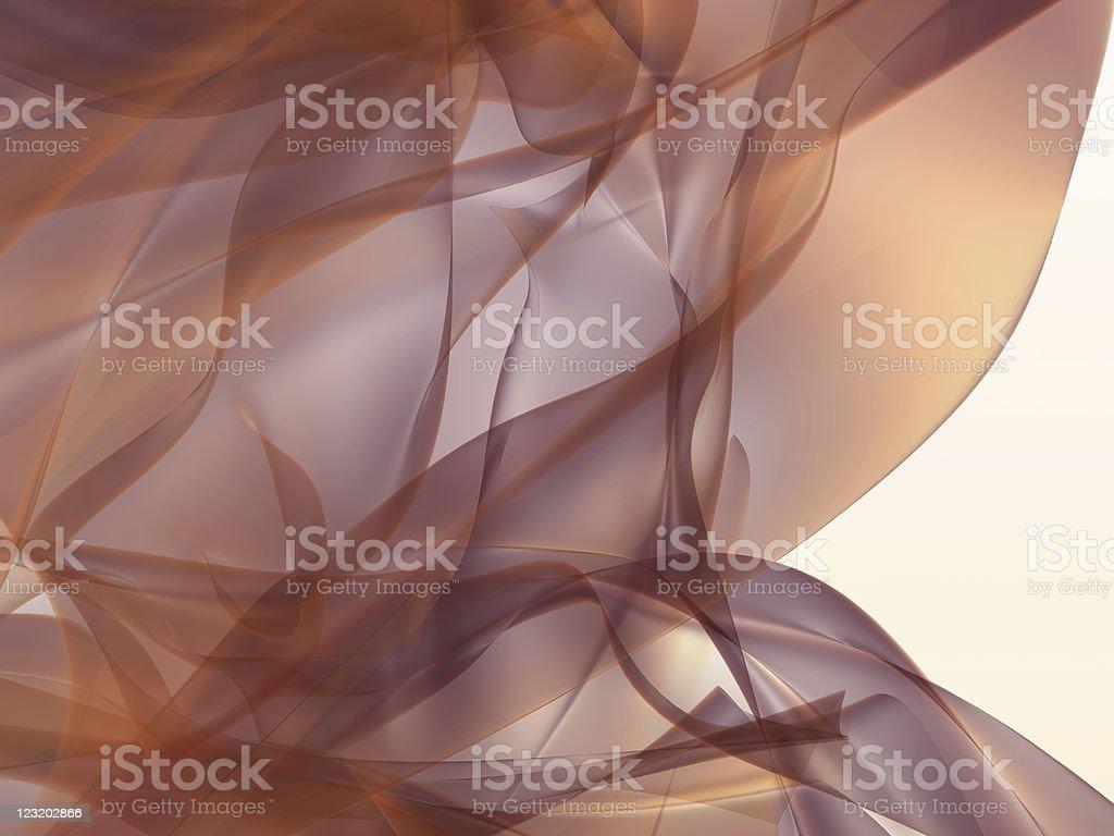 3d silk-like cloth waving stock photo