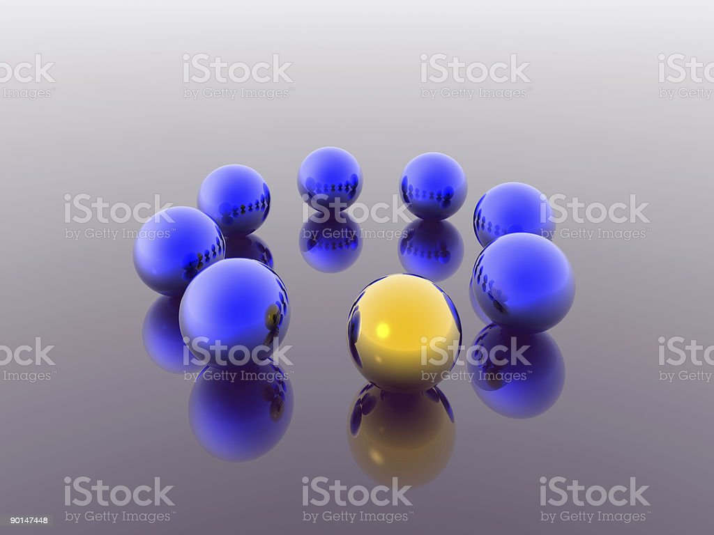 3d spheres royalty-free stock vector art