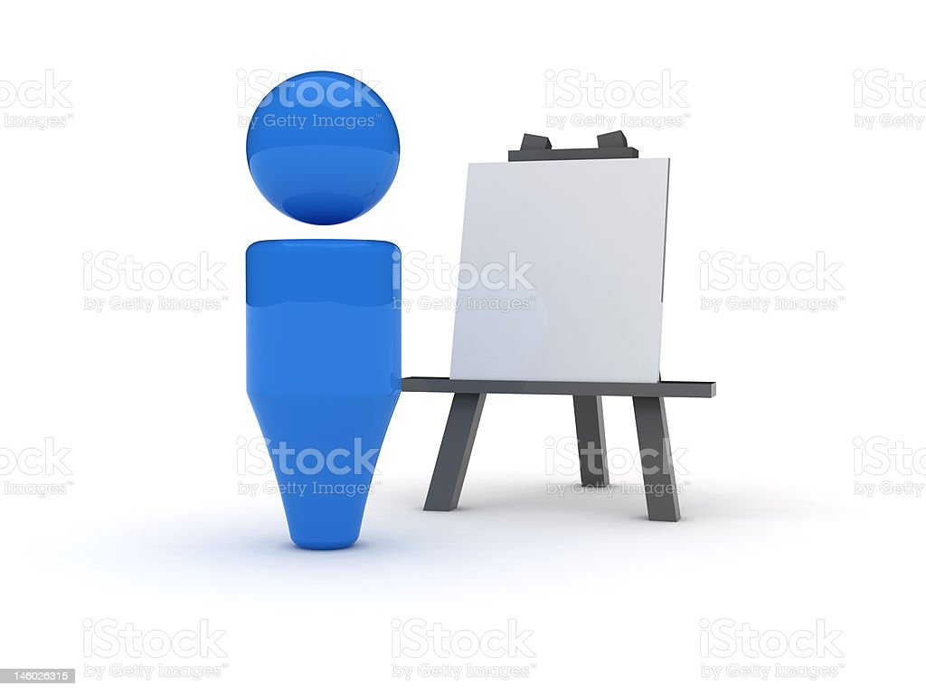 3d web icon - Images royalty-free stock photo