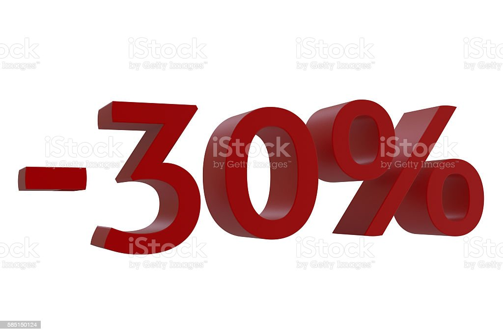3d-model 30% discount stock photo