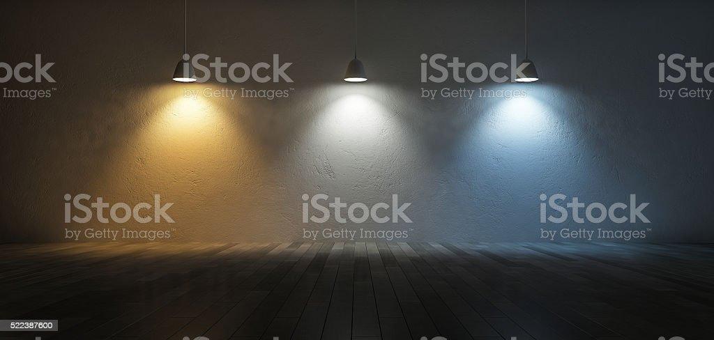 3Ds color temperature scale stock photo
