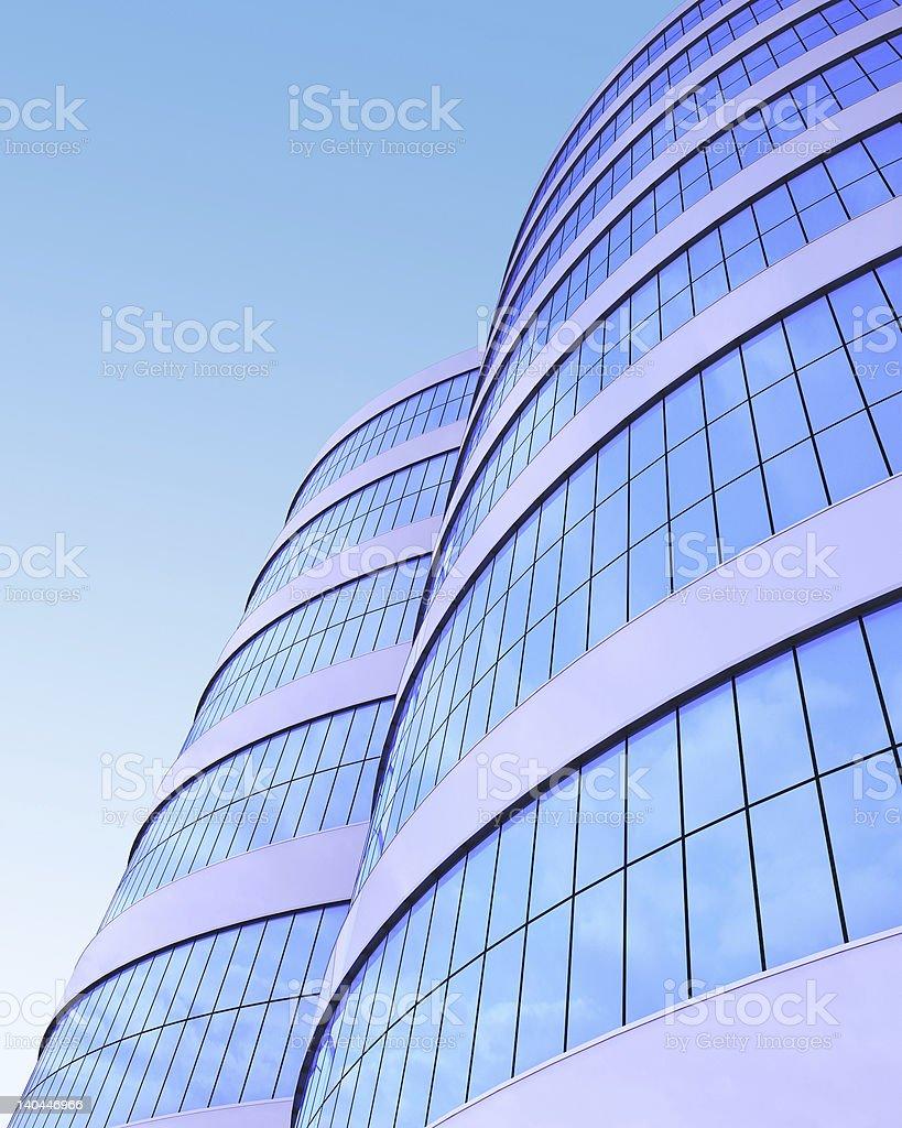 3d--skyscraper--modern royalty-free stock photo