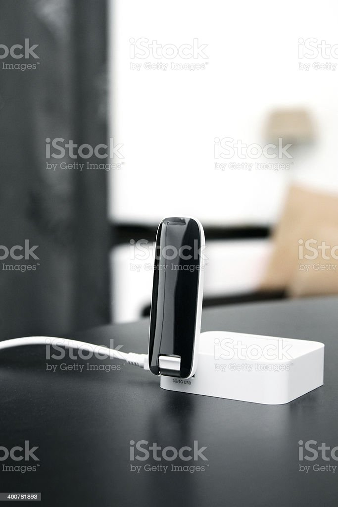 3g 4g mobile internet wireless router stock photo