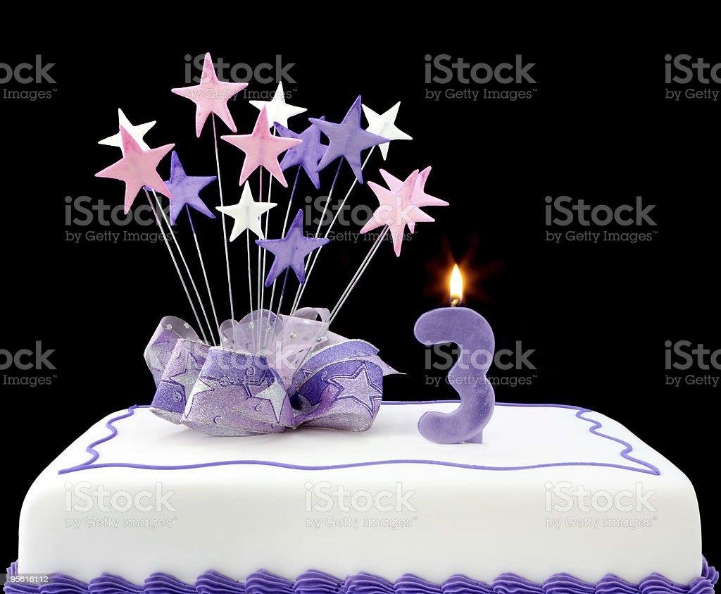 3rd Cake royalty-free stock photo