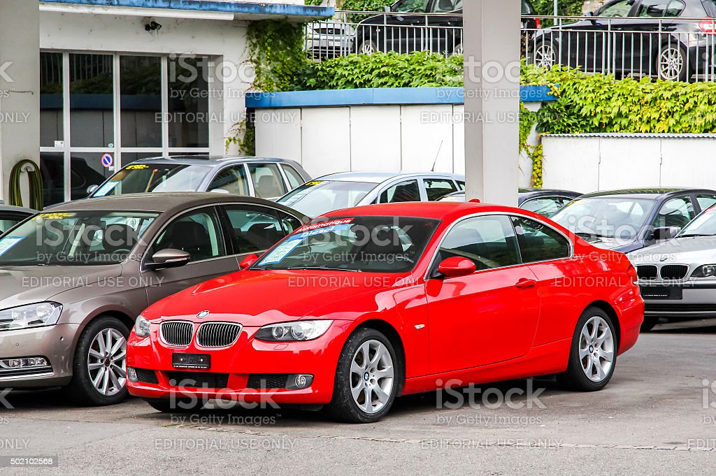 BMW E92 3-series stock photo