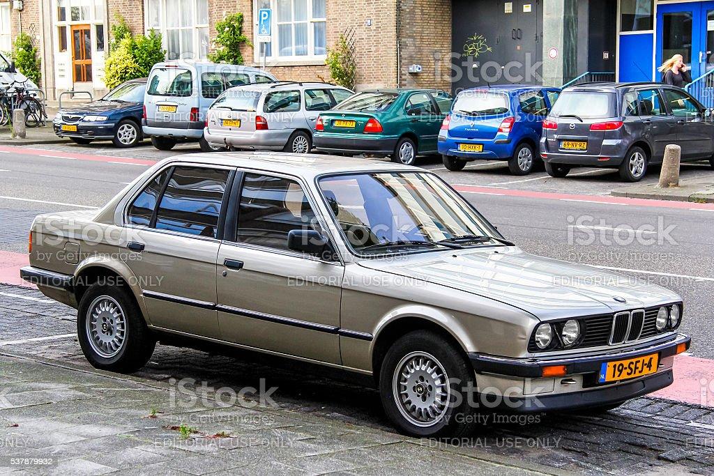 BMW E30 3-series stock photo