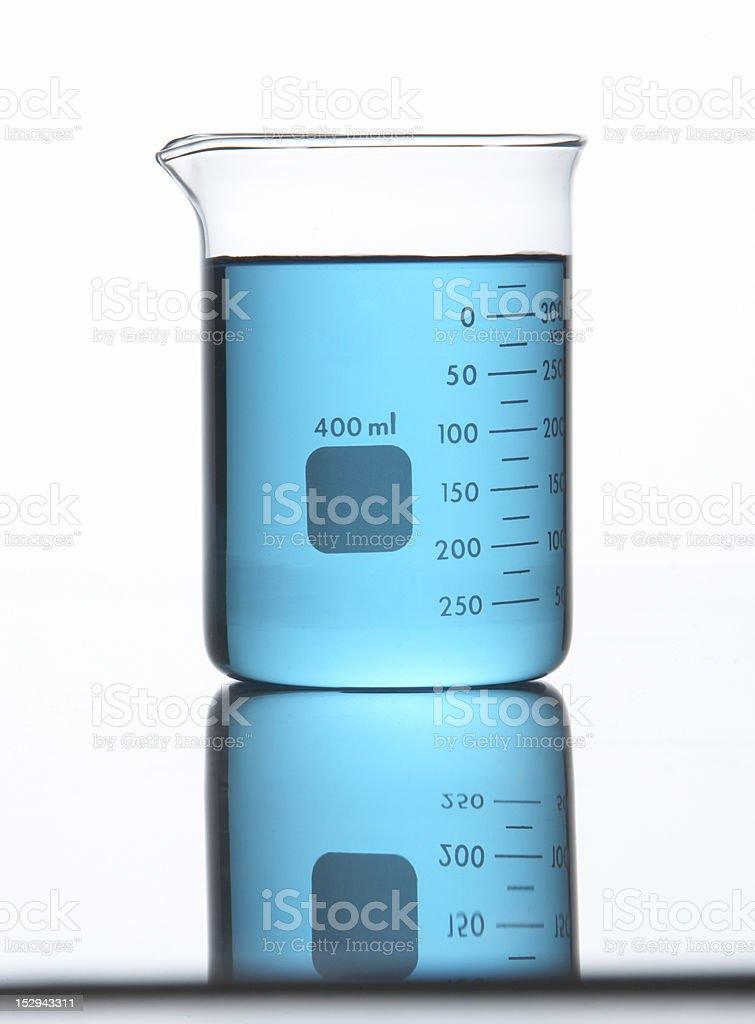 400ml Beaker royalty-free stock photo