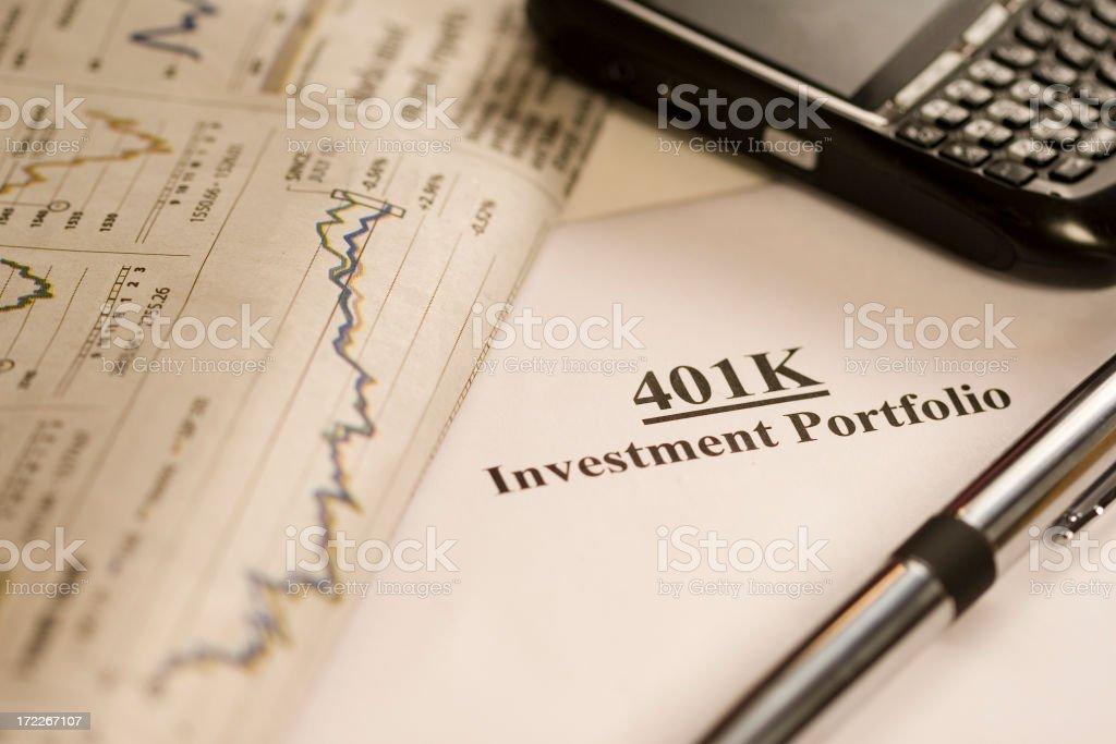 401k-3 royalty-free stock photo