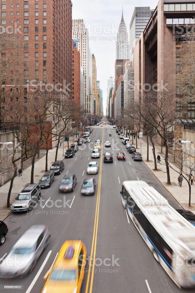 42nd Street - New York stock photo