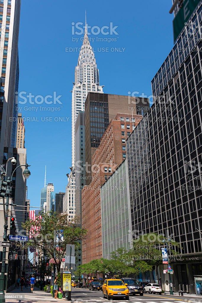 42nd Street stock photo