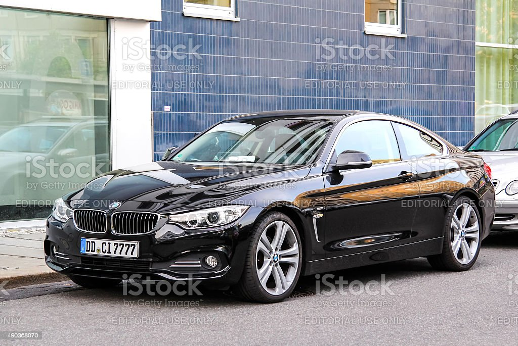 BMW F32 4-series stock photo