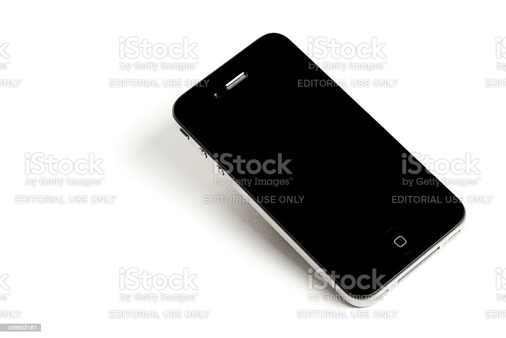 4th generation iPhone stock photo