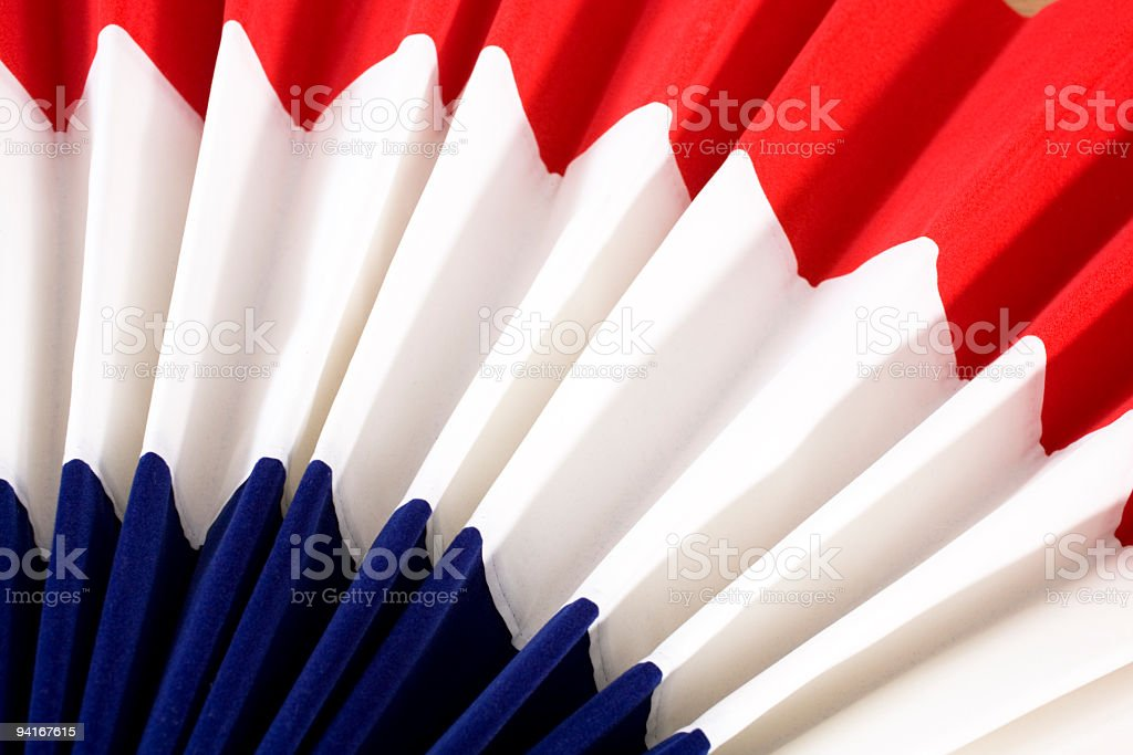 4th of July Bunting royalty-free stock photo
