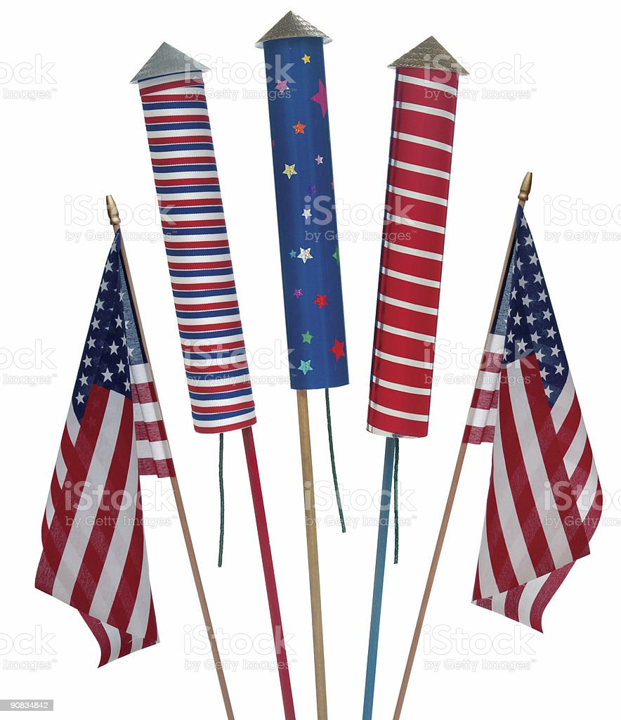 4th of July royalty-free stock photo