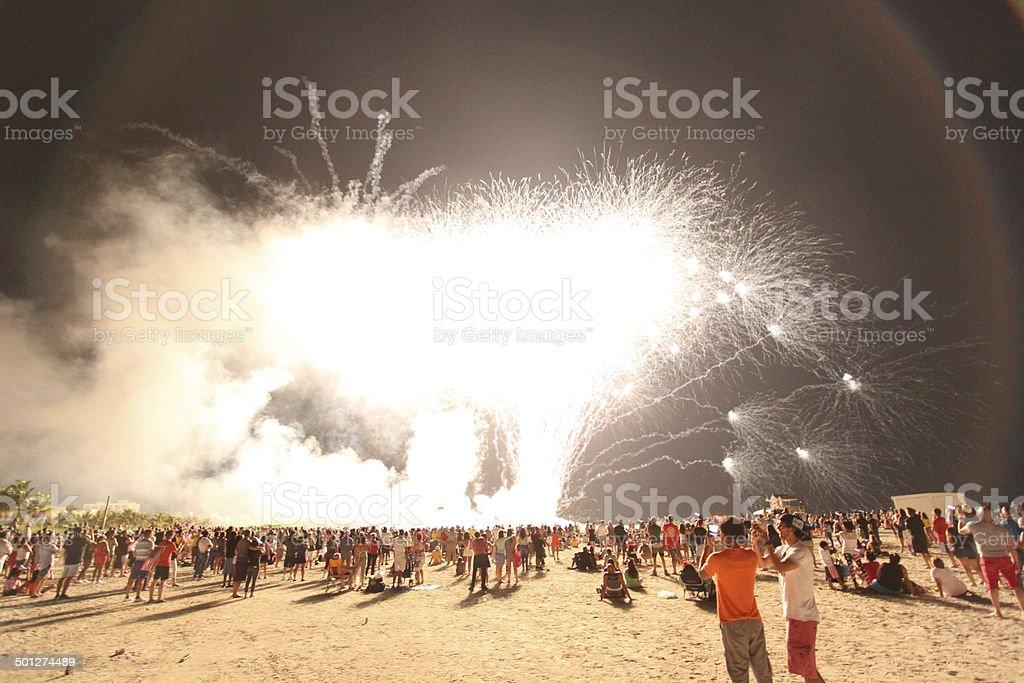 4. Juli-Wochenende 2014 Lizenzfreies stock-foto