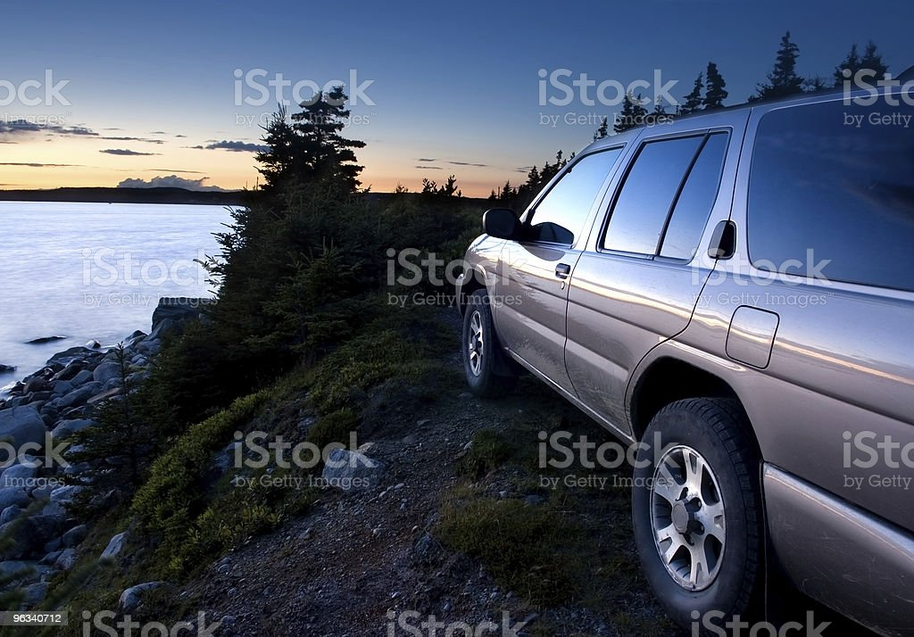 4x4 Sport Utility Vehicle royalty-free stock photo
