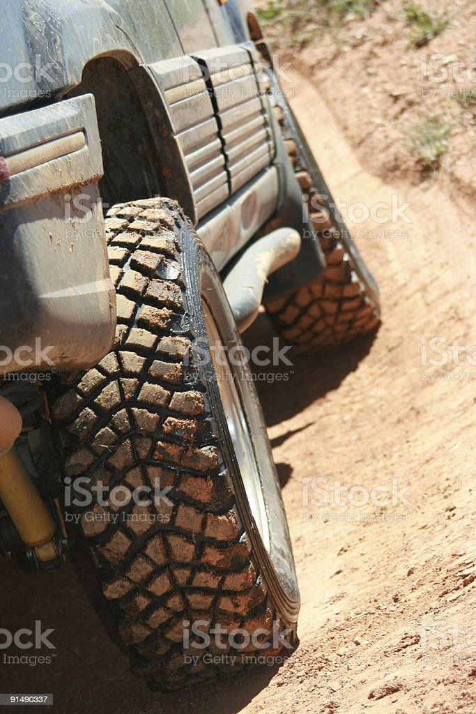 4x4 whiledrive. stock photo