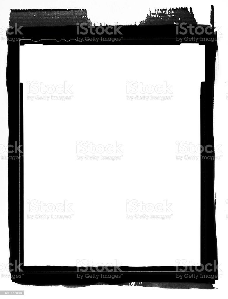 4x5 Contact Print (HI-RES) stock photo