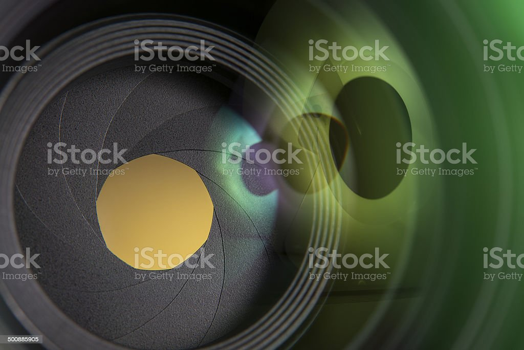 50mm prime camera lens royalty-free stock photo