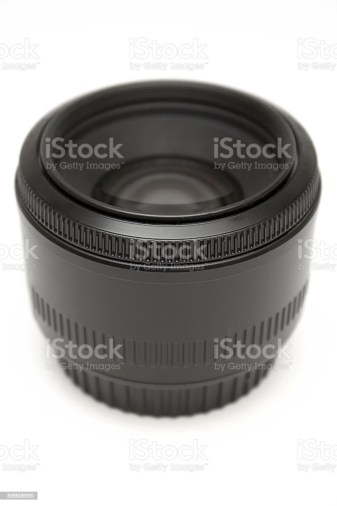 50mm Prime Lens royalty-free stock photo