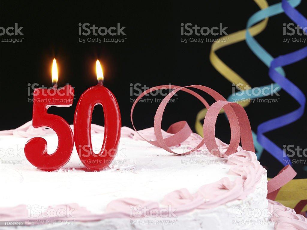 50th. Anniversary stock photo