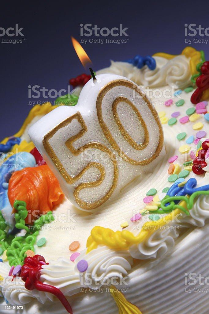 50th anniversary stock photo
