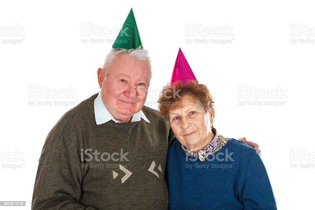 50th anniversary together stock photo